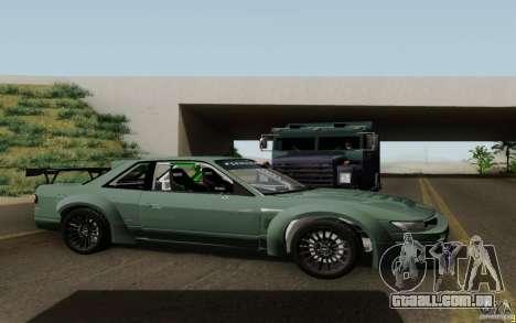 Nissan S13 Ben Sopra para GTA San Andreas vista direita