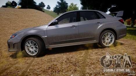 Subaru Impreza WRX STi 2011 para GTA 4 interior