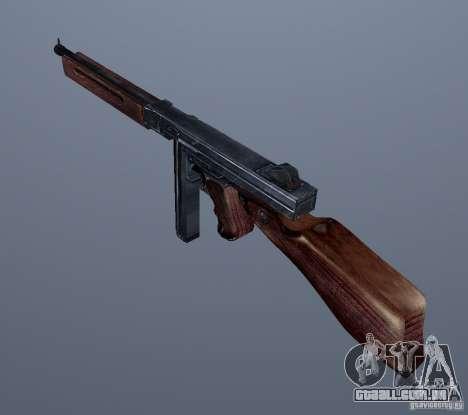 M1 (SMG Thomson) (v 1.1) para GTA Vice City segunda tela