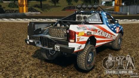 Dodge Power Wagon para GTA 4 traseira esquerda vista