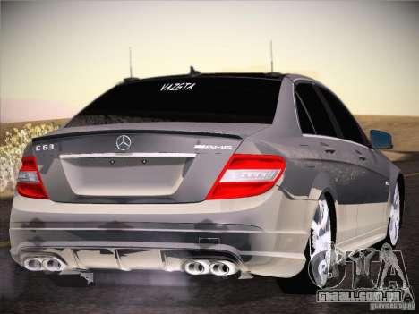 Mercedes-Benz S63 AMG para GTA San Andreas vista direita