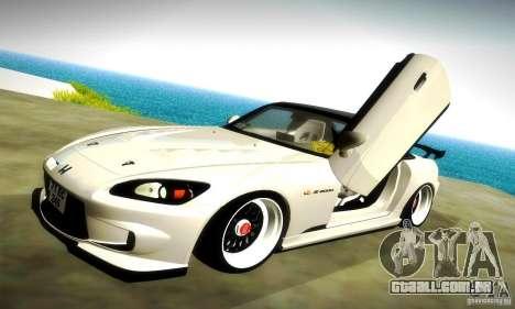 Honda S2000 JDM Tuning para as rodas de GTA San Andreas