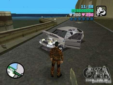 VAZ-2112 para GTA Vice City vista direita