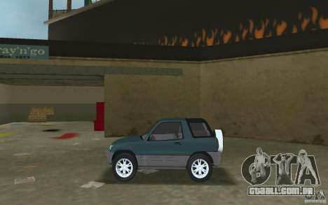 Toyota RAV4 para GTA Vice City deixou vista