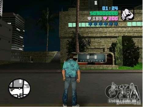 New Hospital para GTA Vice City segunda tela