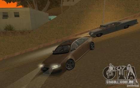Audi RS6 TT Black Revel para GTA San Andreas vista interior