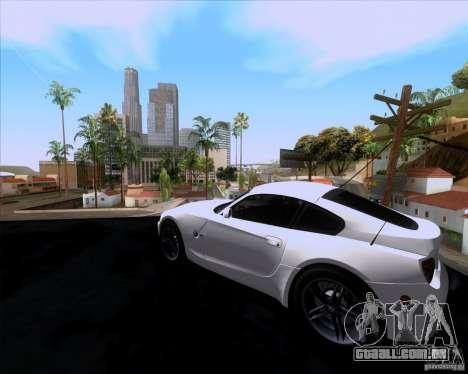 BMW Z4 M Coupe para GTA San Andreas esquerda vista