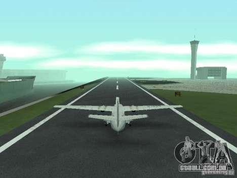 Let L-410 para GTA San Andreas traseira esquerda vista