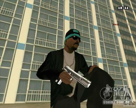 Chrome Weapon Pack para GTA San Andreas segunda tela