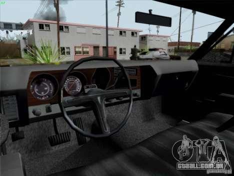 BETOASS car para GTA San Andreas vista traseira