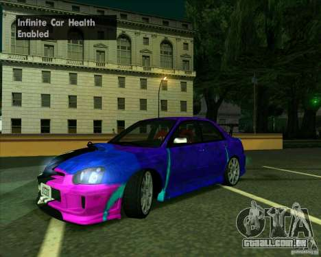 Subaru Impreza Tuned para GTA San Andreas