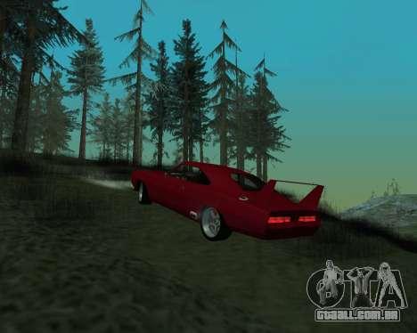Dodge Charger Daytona para GTA San Andreas vista direita