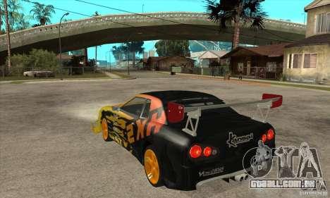 Tuneable Elegy v0.1 para GTA San Andreas traseira esquerda vista