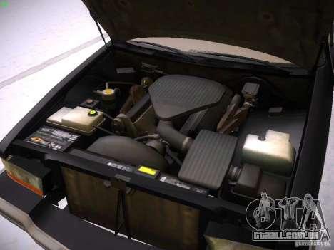 Buick Roadmaster 1996 para GTA San Andreas vista traseira