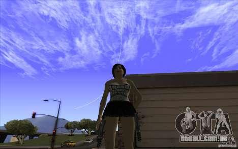 Kaileena big fan para GTA San Andreas segunda tela