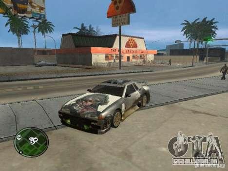 Fantasma de vinil para Elegy para GTA San Andreas