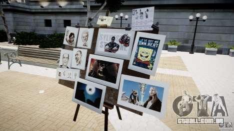 New Paint Artist para GTA 4 por diante tela