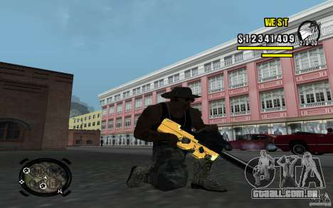 Gold Weapon Pack v 2.1 para GTA San Andreas terceira tela