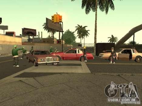 The Akatsuki gang para GTA San Andreas sétima tela