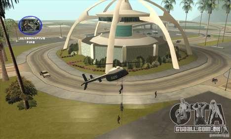 Police Maverick 2 para GTA San Andreas vista direita