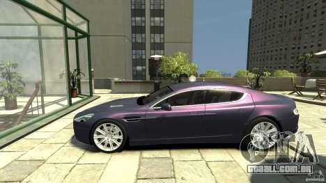 Aston Martin Rapide 2010 para GTA 4 esquerda vista