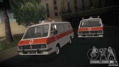 RAF 22031 ambulância para GTA San Andreas