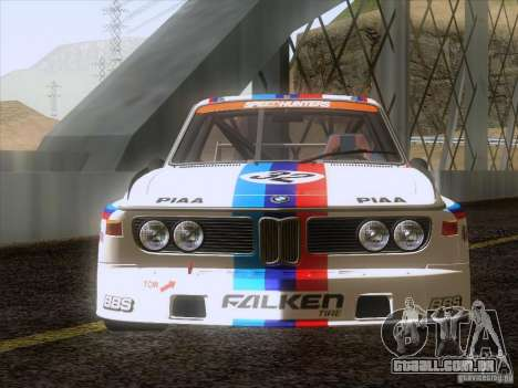 BMW CSL GR4 para GTA San Andreas vista direita