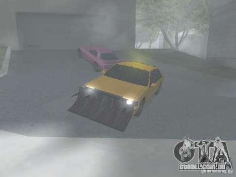 Táxi Zombie para GTA San Andreas esquerda vista