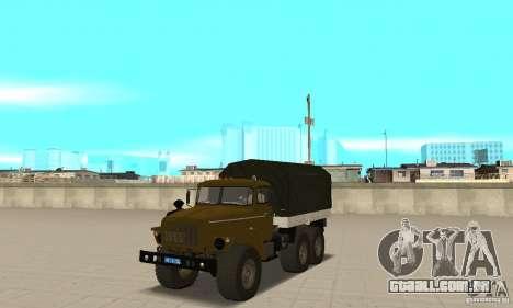 Ural 4320 para GTA San Andreas