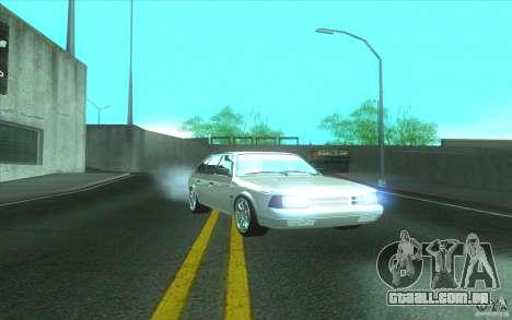 Carro do AZLK 2141 Tuning para GTA San Andreas traseira esquerda vista