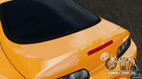 Toyota Supra Tuning para GTA 4 interior