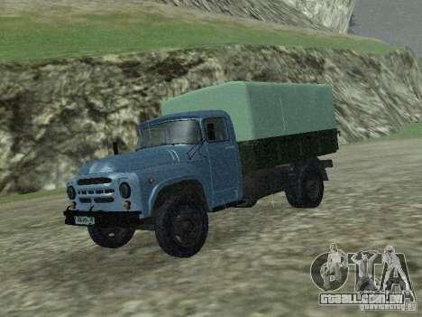 ZIL 130 a bordo para GTA San Andreas