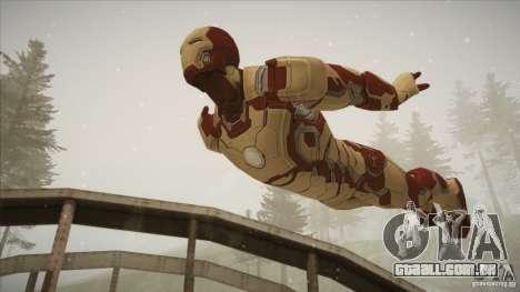 Iron Man Mark 42 para GTA San Andreas terceira tela