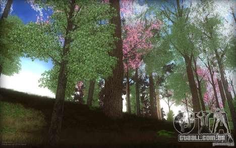 Spring Season para GTA San Andreas segunda tela