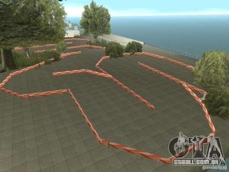 New Drift Track SF para GTA San Andreas segunda tela
