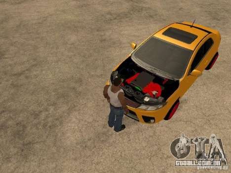 Kia Cerato Coupe JDM para GTA San Andreas vista direita