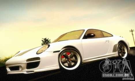 Porsche 911 Sport Classic para GTA San Andreas vista traseira