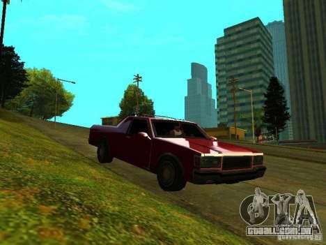 Picador para GTA San Andreas esquerda vista