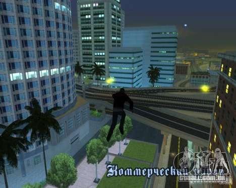 Prototype MOD para GTA San Andreas quinto tela