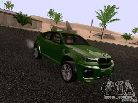 BMW X6 LT para GTA San Andreas