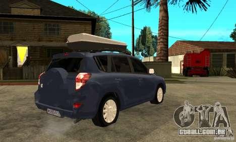 Toyota RAV4 V2 para GTA San Andreas vista direita