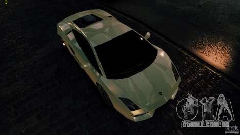 Lamborghini Gallardo Hamann para GTA 4 vista interior