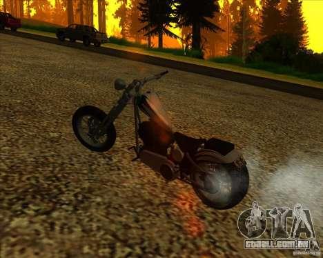 Hexer bike para GTA San Andreas vista superior