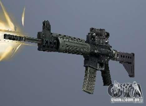Um conjunto de armas de um stalker para GTA San Andreas sexta tela
