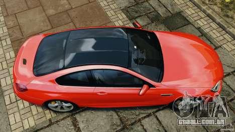 BMW M6 F13 2013 v1.0 para GTA 4 vista direita