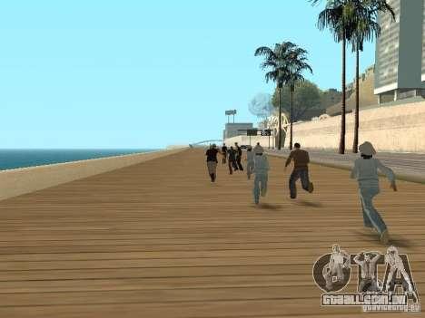 Polícia covarde para GTA San Andreas segunda tela