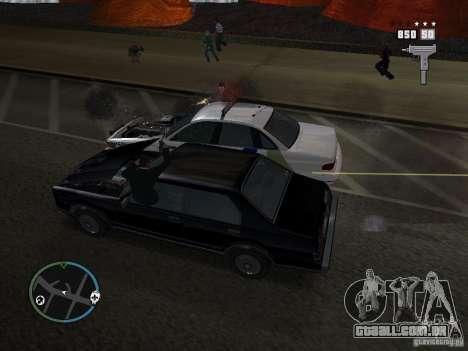 Os Super tiras para GTA San Andreas segunda tela