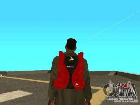 Pára-quedas de TBOGT para GTA San Andreas terceira tela