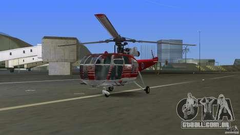 IAR 316B Alouette III SMURD para GTA Vice City deixou vista