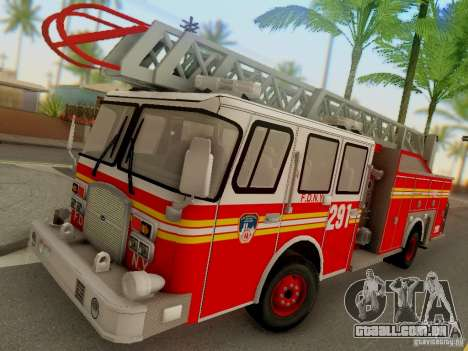 E-One FDNY Ladder 291 para GTA San Andreas
